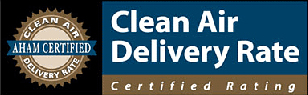 AHAM CADR rating for air purifiers