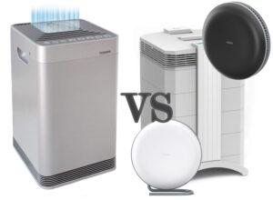 NuWave OxyPure Air Purifier vs IQair Air Purifier
